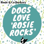 Vegan 'Rosie Rocks' Gem-shaped Dog Treats