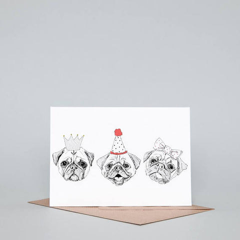 party pugs dog-themed gifcard