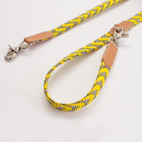 Cafe Lead - Kitenge Yellow Zig Zag