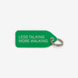 Collar Charm - Less talking, more walking