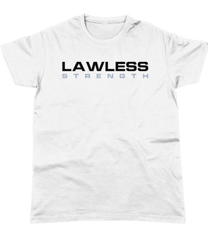 Lawless Strength Logo t-shirt WHITE