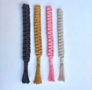 Set of 3 Macrame Play Gym Toys