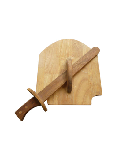 Timber Sword and Shield Set