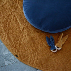 Quilted Cotton Velvet Play Mat