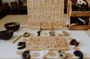 Lowercase Letter Tracing Board