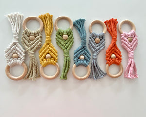 Macrame Teether