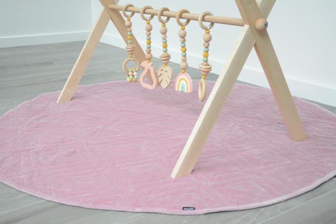 Deluxe Raw Beechwood Play Gym Package - TWIN FRAME & TOYS