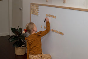 Magnetic Learning Wall