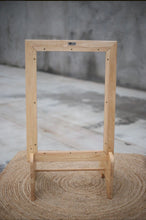 Timber Framed Perspex Easel