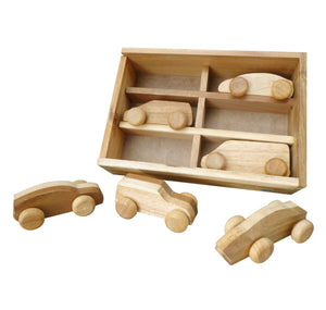 Timber Car Set