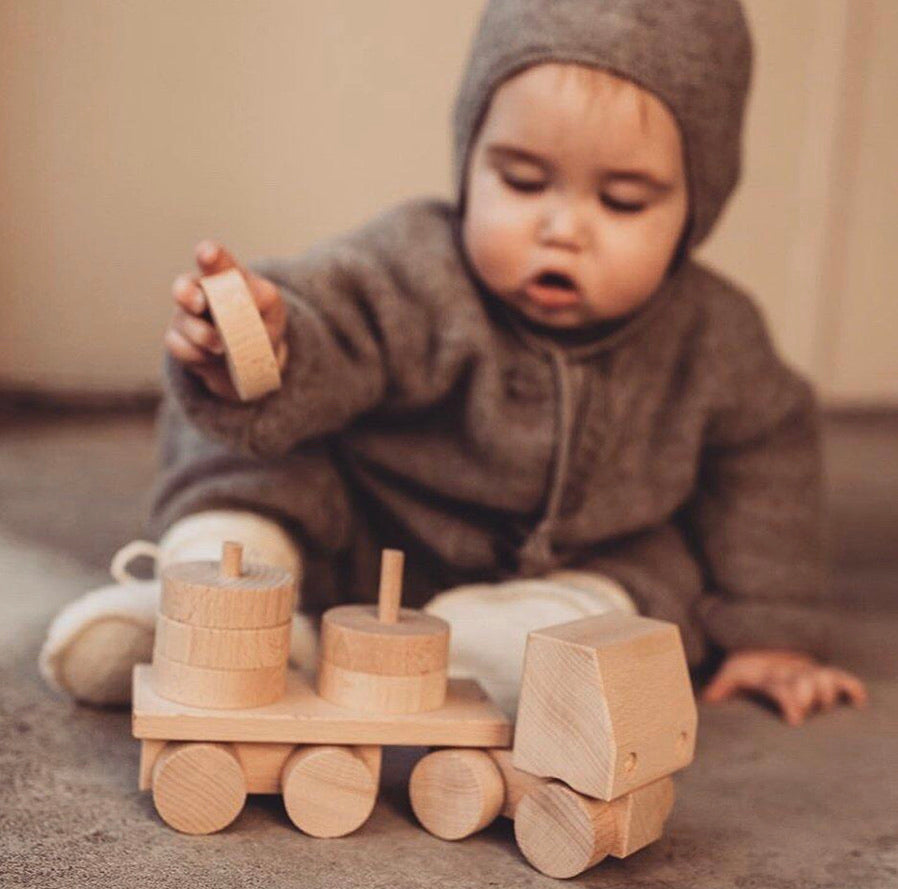 Wooden Stacking Truck