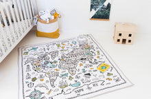 World Explorer Square Play Mat