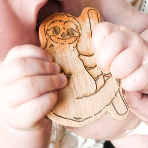 Beechwood Sloth Teether