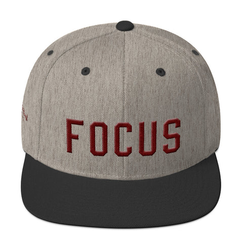 FOCUS Snapback Hat - Focused Heart Apparel