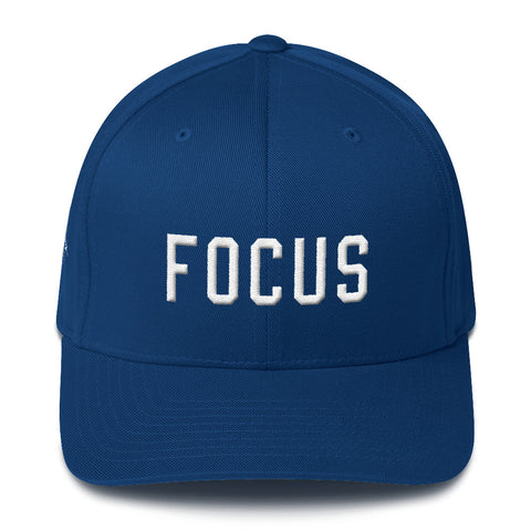 FOCUS Structured Cap - Focused Heart Apparel