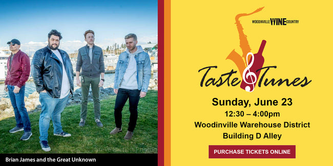 Sunday, June 23rd - Taste & Tunes is back!