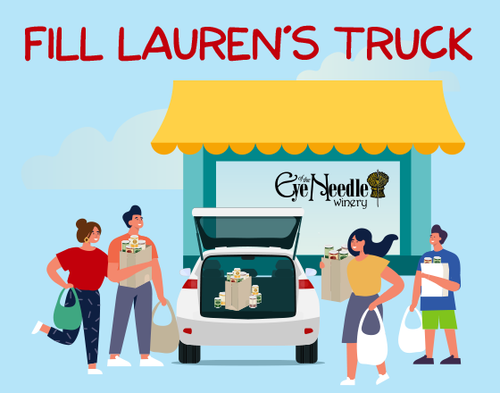 Fill Lauren's Truck This Saturday at the Eye