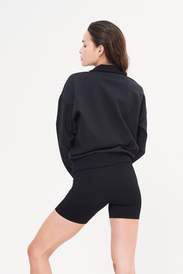 LUNA Rib Short - Black