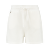 Relaxed fit structured shorts - White