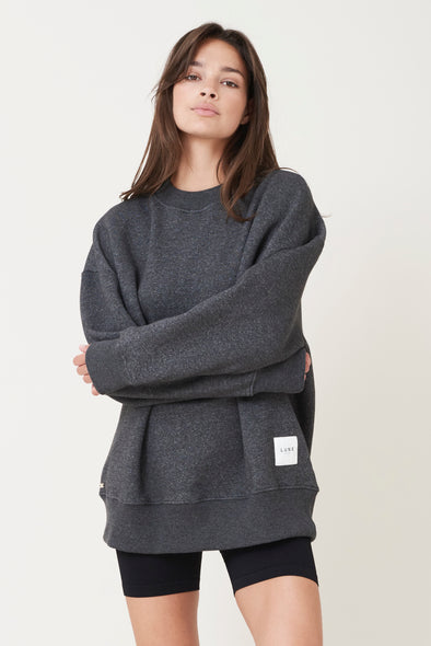 Oversized soft sweater - Black