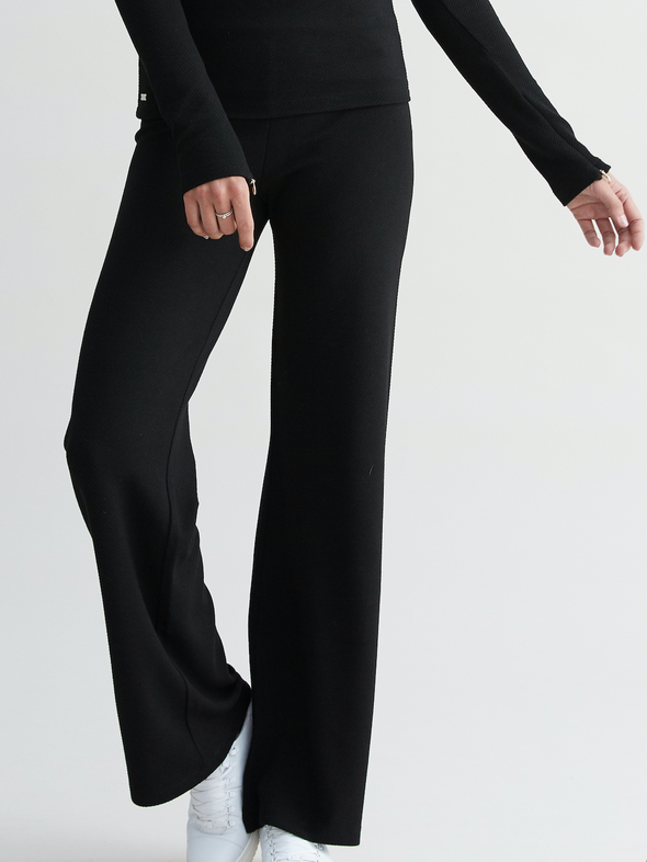 FOREST Flare Pants - Black
