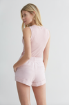 ICE Cashmere Short - Old Pink