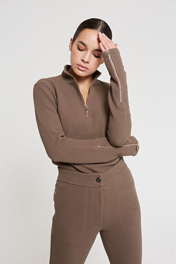 MOON Top - Taupe