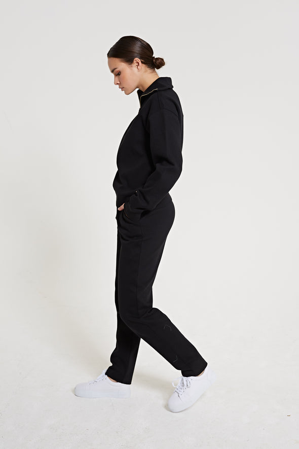 Tapered fit jogger - Black