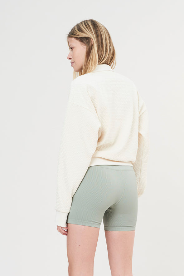 LUNA Rib Short - Sage Green