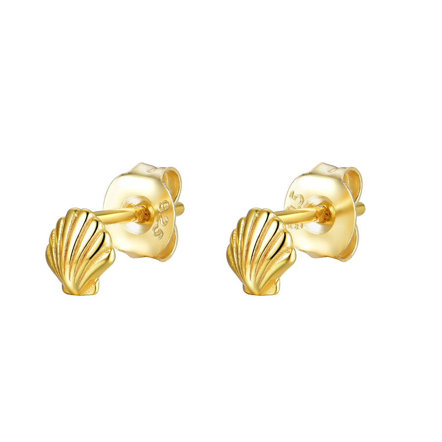 Oasis Found Earrings in Gold