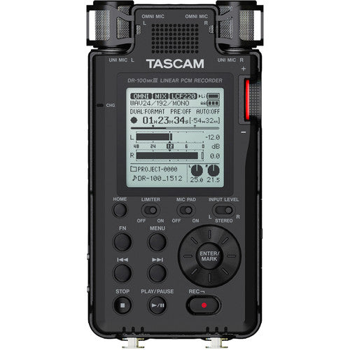 Tascam DR-100mkIII Linear PCM Recorder