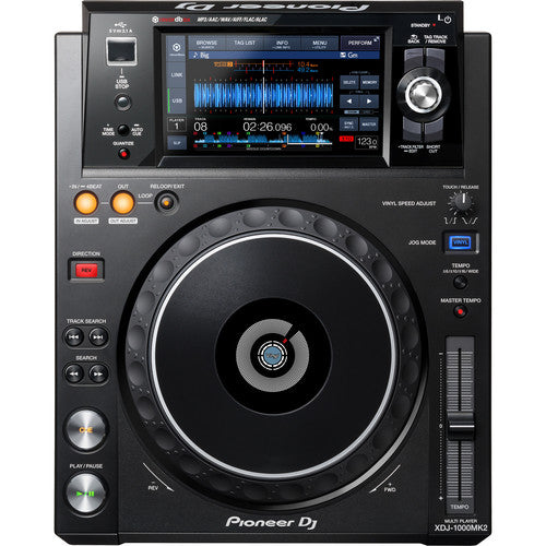 Pioneer DJ XDJ-1000MK2 - High-Performance Multi-Player DJ Deck with Touch Screen