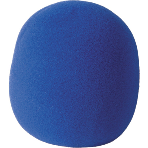 On-Stage ASWS58 Foam Windscreen for Handheld Microphones (Blue)