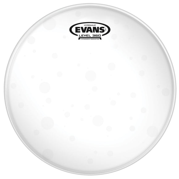 Evans Hydraulic Glass Drum Head, 12 Inch