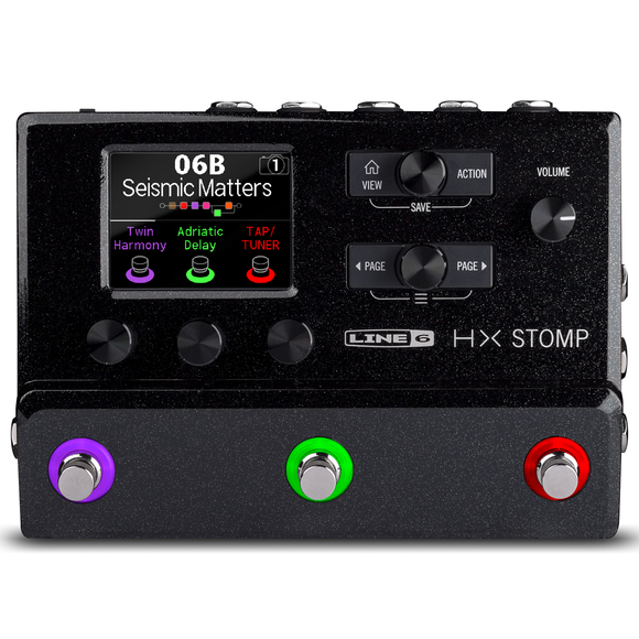 Line 6 HX Stomp - Next Generation Amp and FX Modeler