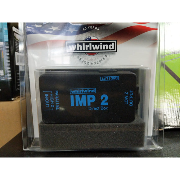 Whirlwind IMP 2 Direct Box - J&E Pro Audio Inc
