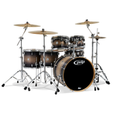 PDP CM6 Concept Series 6-Piece Maple Shell Pack w/Chrome Hardware; 8x10, 9x12, 12x14, 14x16, 5.5x14, 18x22
