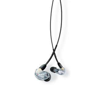Shure SE215-CL-Uni Earphones, Clear