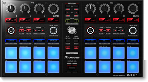 Pioneer DJ DDJ-SP1 Add-On Controller for Serato DJ and rekordbox dj