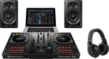Pioneer DJ Starter Pack with DDJ-400 Controller, Monitors, and Headphones