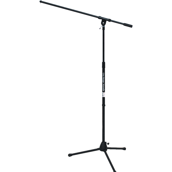 On-Stage 72010 Tripod Mic Stand with Boom - J&E Pro Audio Inc