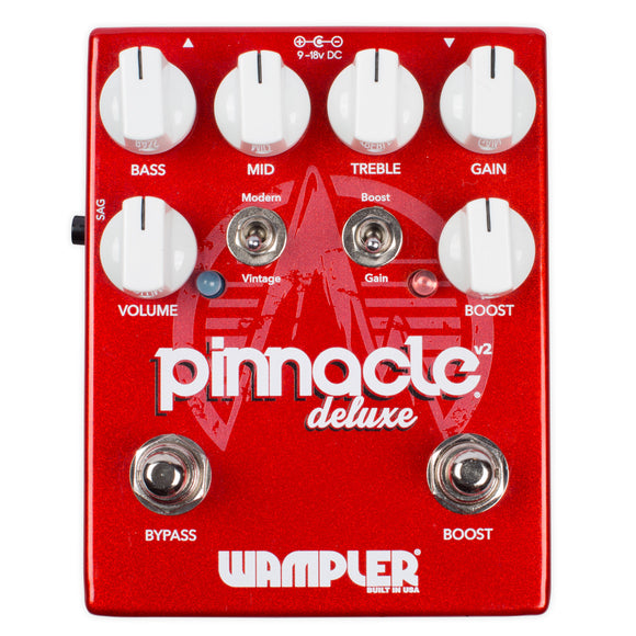 Wampler Pinnacle Deluxe v2 Distortion