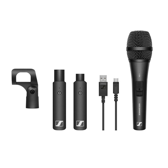 Sennheiser XSW-D VOCAL SET - Digital Wireless Microphone System with Plug-On Transmitter and Handheld Mic (2.4 GHz)