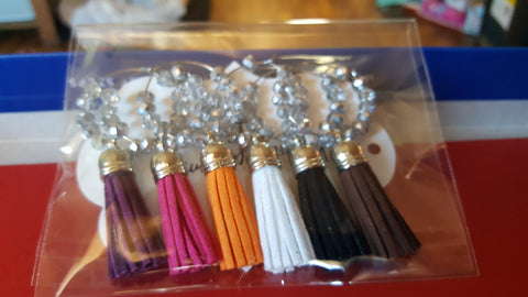 Sparkly Wine Charms
