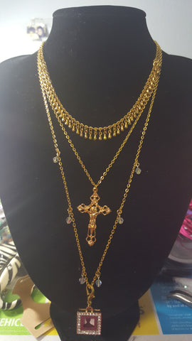 Golden Tears Necklace