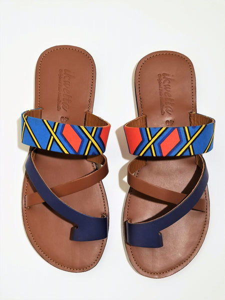Nakia cross toe sandal - Zai & Ami Designs