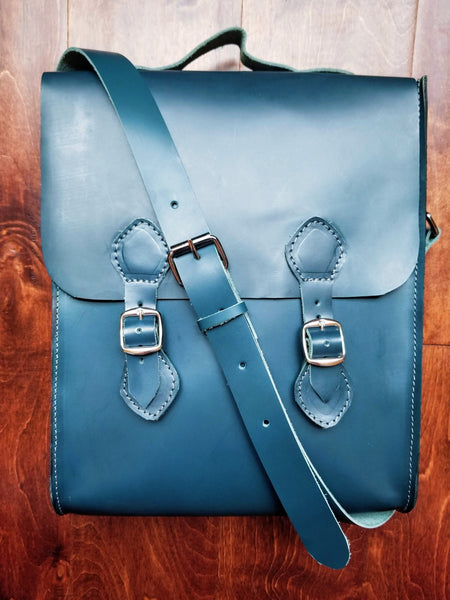 Teal Crossbody Shoulder Bag - Zai & Ami Designs