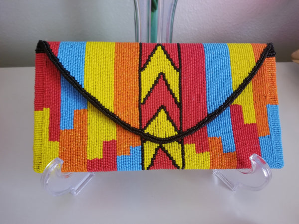 Hand Beaded Clutches - Zai & Ami Designs
