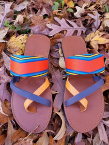 Amina cross toe sandal - Zai & Ami Designs