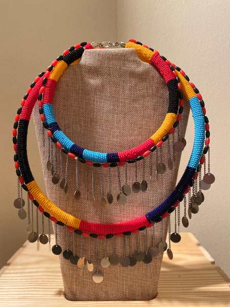 Yeyoo Maasai Necklace Set